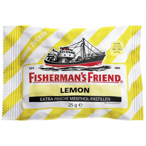 Lemon Pastillen, ohne Zucker