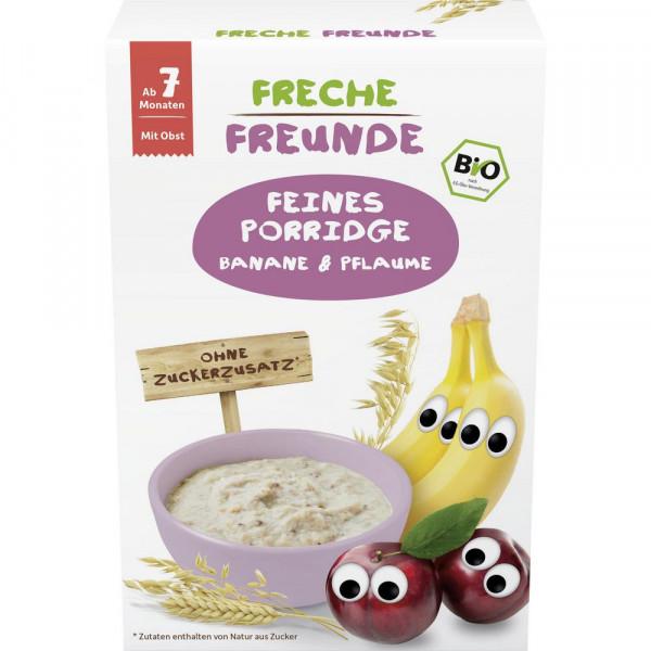 """Bio Porridge """"Feines Porridge"""", Banane & Pflaume"""
