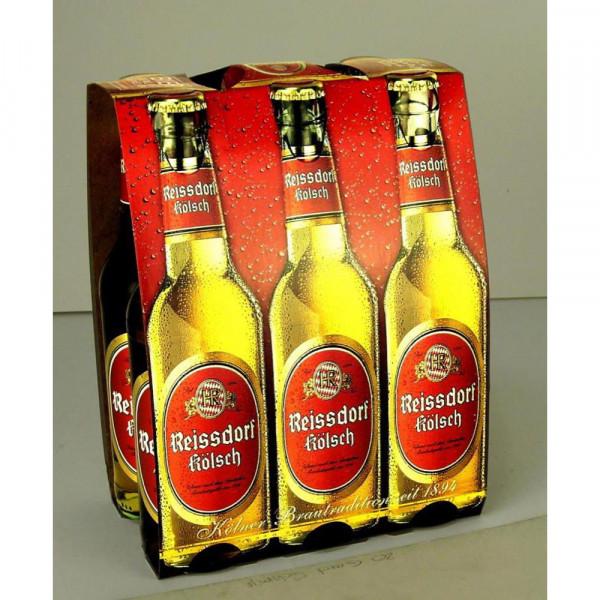 Kölsch Bier 4,8%(4 Sixpacks in der Kiste zu je 6 x 0.33 Liter)