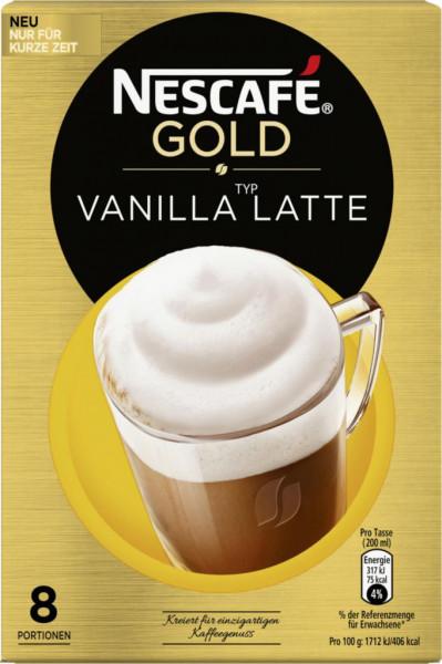 Cappuccino, Vanilla Latte