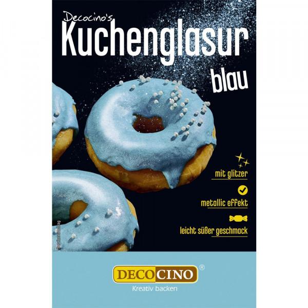 Kuchenglasur Metallic, blau