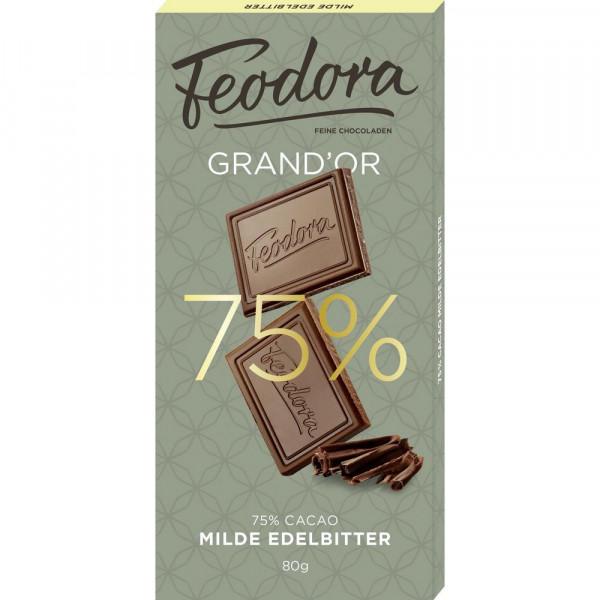 "Tafelschokolade ""Edelbitter"" 75%"