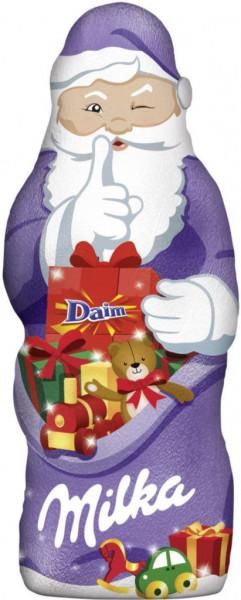 Schokoladen-Weihnachtsmann, Daim