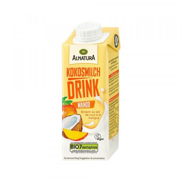 Kokosmilch-Drink, Mango