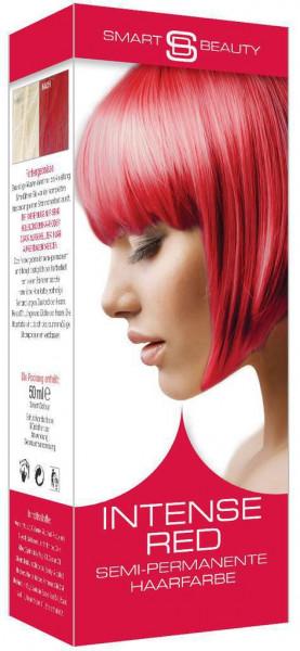 Haarfarbe, intensives Rot