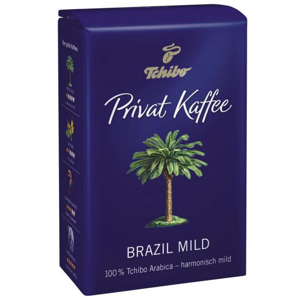 """Privatkaffee """"Brazil"""" mild, ganze Bohne"""