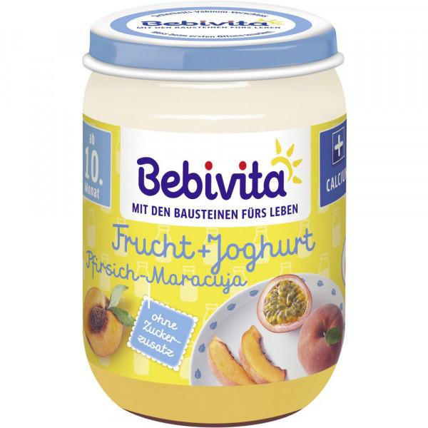 Baby Fruchtjoghurt, Pfirsich/Maracuja