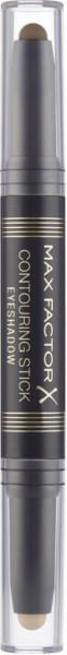 Lidschatten Contouring Stick Eyeshadow, Warm Taupe & Amber Brown