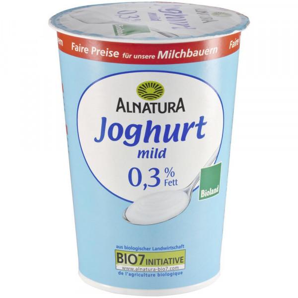 Bio Joghurt mild 0,3% Fett