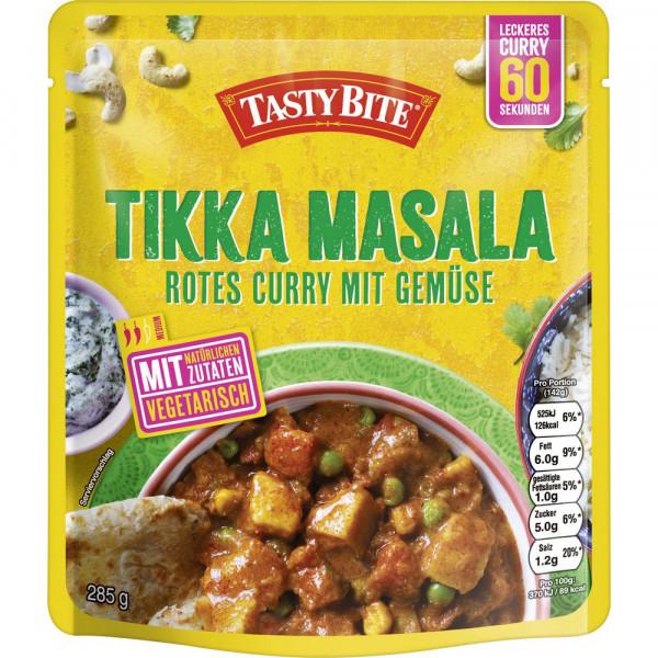 "Fertiggericht ""Tikka Masala"", Rotes Curry mit Gemüse"