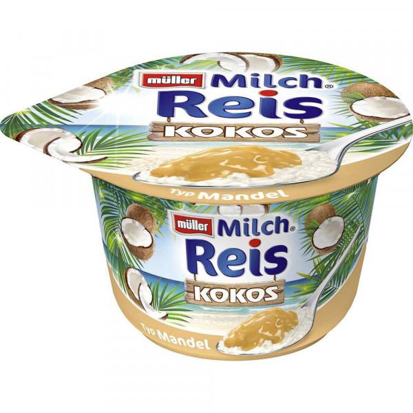 Milchreis, Kokos/Mandel