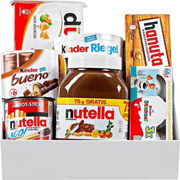 Präsentkorb Nutella
