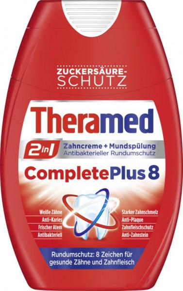 """2in1 Zahncreme + Mundspülung """"Complete Plus"""""""