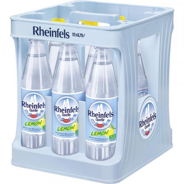 Natürliches Mineralwasser mit Zitronengeschmack, 12 x 0,75l (12 x 0.75 Liter)