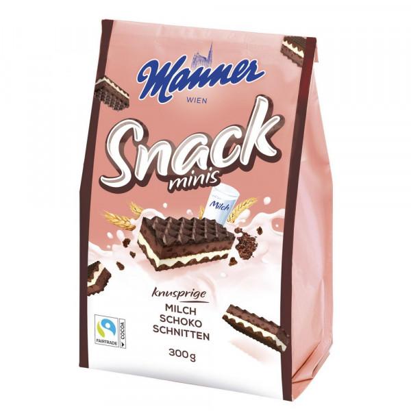 "Waffeln ""Snack minis"", Milch-Schoko"