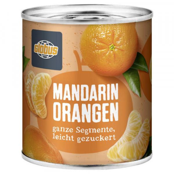 Mandarin-Orangen, geschält, leicht gezuckert