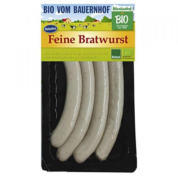 Bio Bratwurst, fein