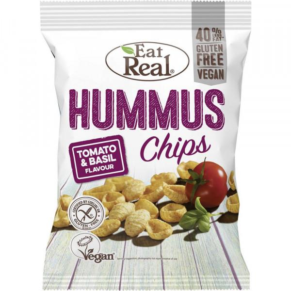 Hummus Chips Tomato & Basil 135g
