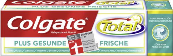Zahncreme, Total plus gesunde Frische