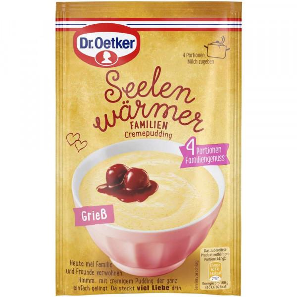 "Pudding ""Seelenwärmer"", Grieß"