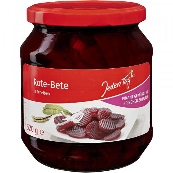Delikatess-Rote-Bete in Scheiben
