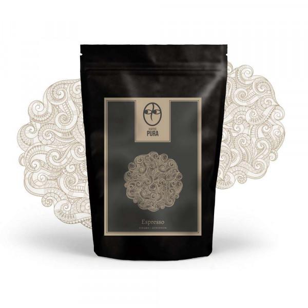 Sidamo-bio Espresso gemahlen