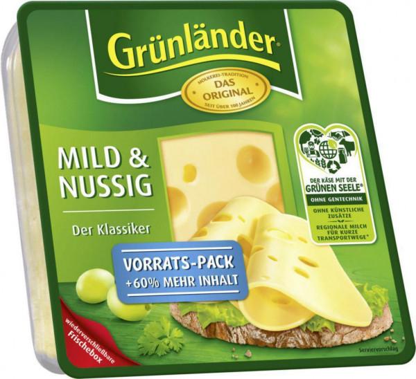 Käseaufschnitt, mild & nussig