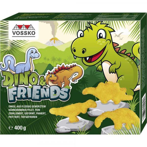 """Paniertes Hähnchenbrustfilet """"Dino & Friends"""", tiefgekühlt"""