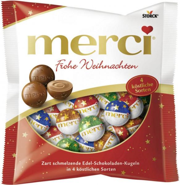 Schokoladen-Weihnachtskugeln, Mix
