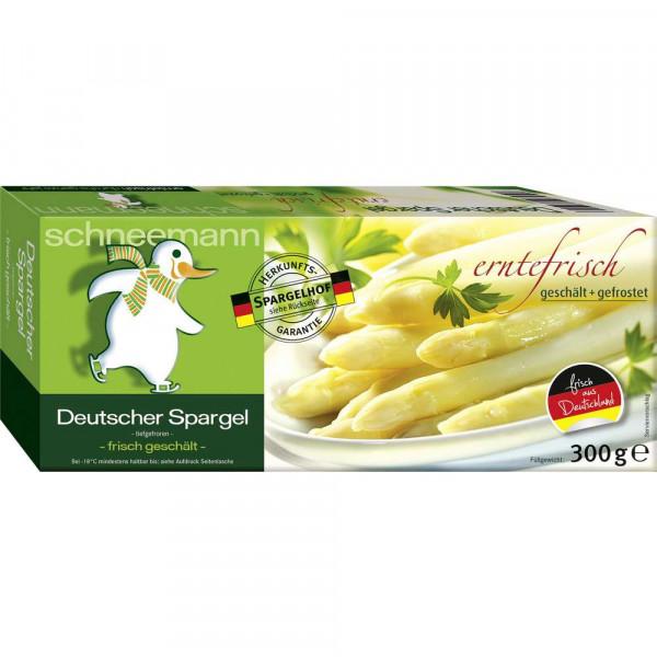 Deutscher Spargel weiß, tiefgekühlt