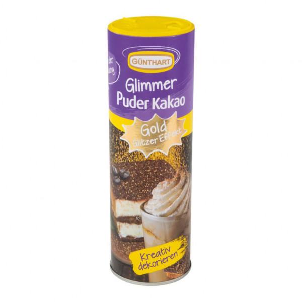 "Kakaopuder, ""Gold-Glitzer"""