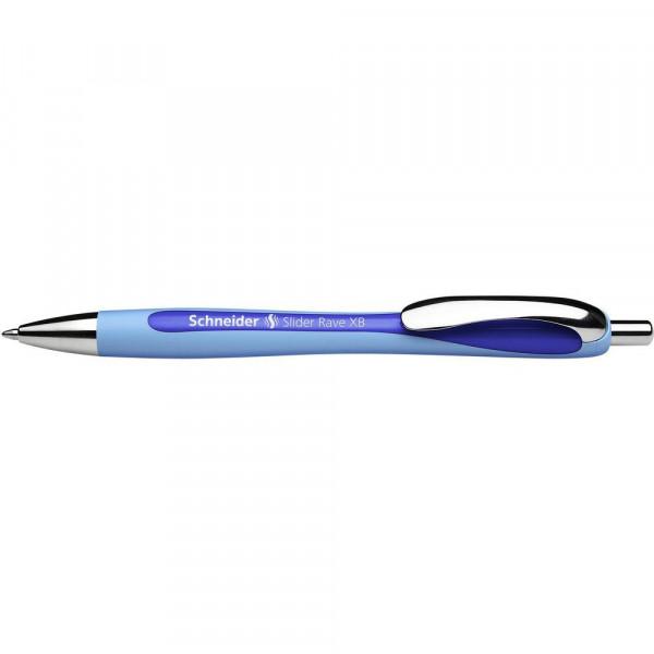 """Kugelschreiber """"Slider Rave"""" extra breit, blau"""