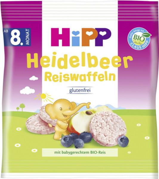Baby Reiswaffeln, Heidelbeer
