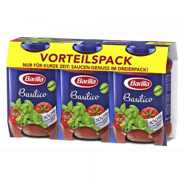 "Pesto ""Dreierpack"", Basilikum"