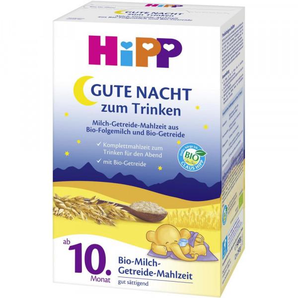 Gute Nacht Mahlzeit, Folgemilch/Getreide