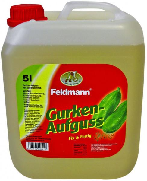 Gurken-Aufguss