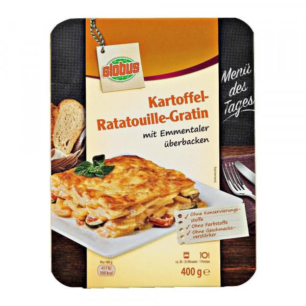Kartoffel-Ratatouille-Gratin