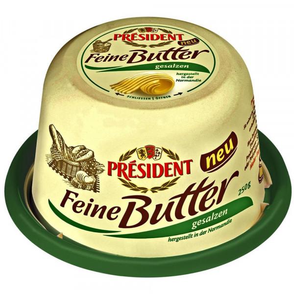 Feine Butter, gesalzen