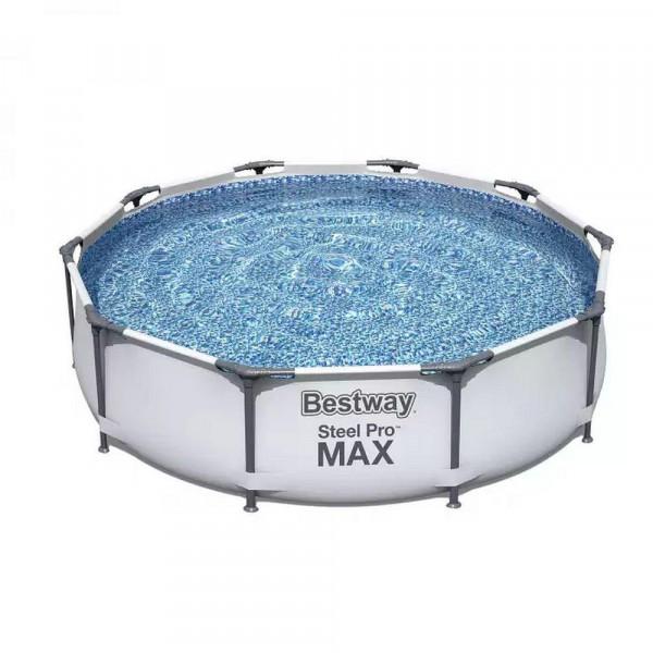"""Pool """"Steel Pro MAX Frame"""", rund, ohne Pumpe"""