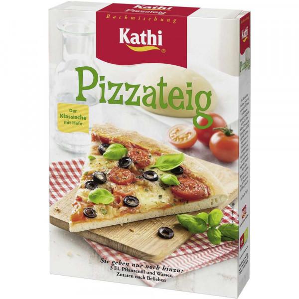 Pizzateig, Der klassische mit Hefe