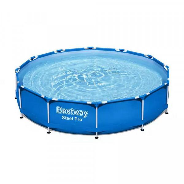 """Pool Set """"Steel Pro"""", rund, ohne Pumpe"""