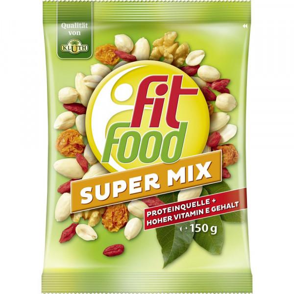 Fit Food Super Mix, Trockenfrüchte & Nüsse