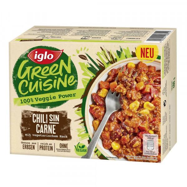 Chili sin Carne, vegetarisch, tiefgekühlt