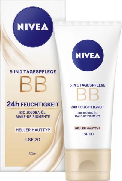 Essentials 5in1 getönte Tagespflege für helle Hauttypen LSF20