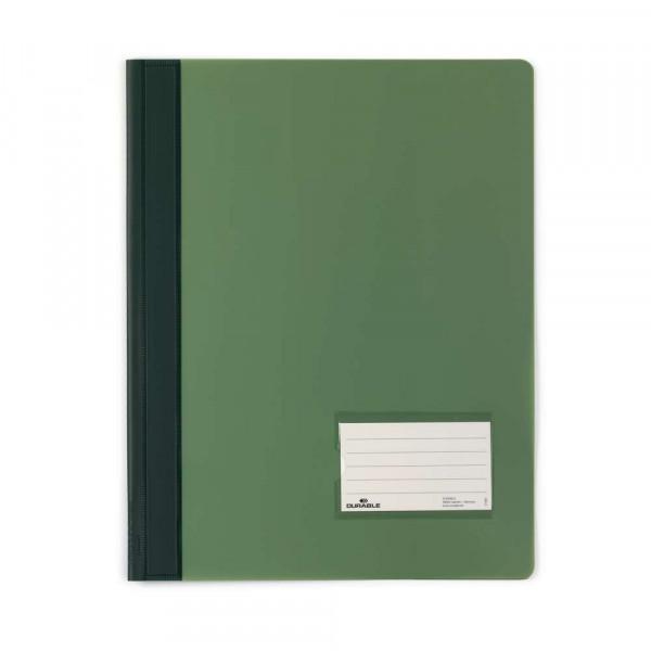 Schnellhefter, A4, Kunststoff, grün