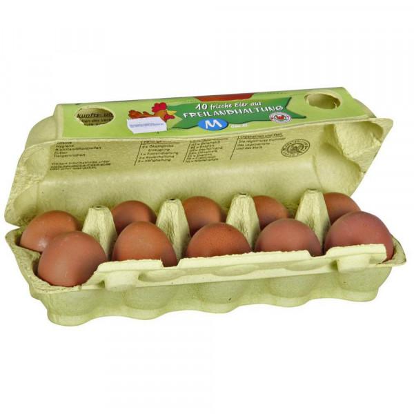 Eier aus Freilandhaltung, Gr. M