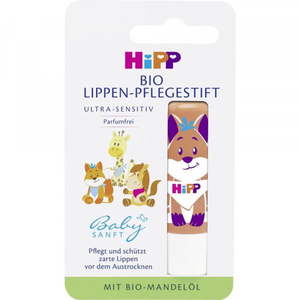 """Bio Lippen-Pflegestift """"Baby Sanft"""", mit Tiermuster"""