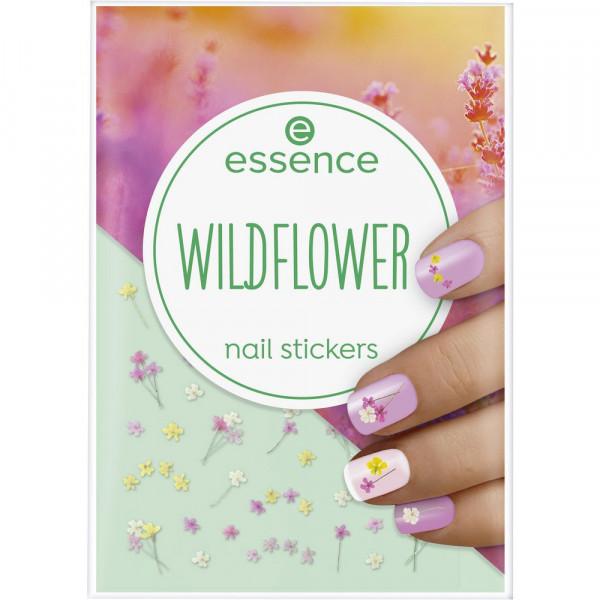 Nagelsticker, Wildflower