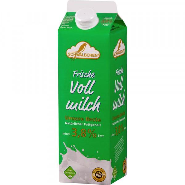 Frische Milch, länger haltbar 3,8% Fett