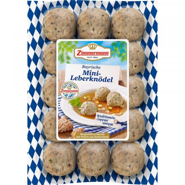 Original bayerische Leberknödel